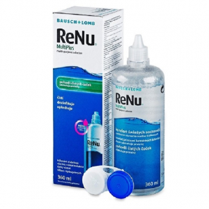 Renu Multi Plus (360 ml + контейнер)
