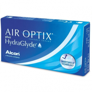 Air Optix plus HydraGlyde (3 линзы)