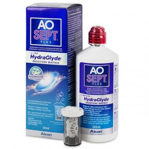 Aosept HydraGlyde Plus 360 мл Пероксидное средство