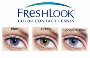 Freshlook Colors (месячные)